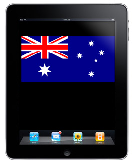 Apple: iPad supports 4G, but not in Australia
