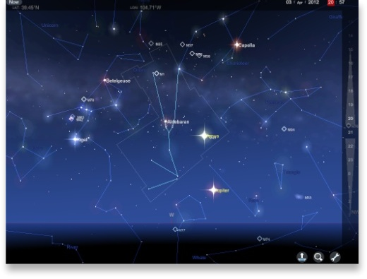 Explore The Sky With The Awe-Inspiring Star Chart For Ipad – The