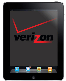 Verizon iPad. Zing!