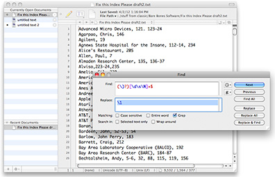TextWrangler 4.0 for the Mac