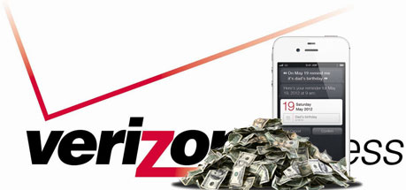 iPhone sales make up two thirds of Verizon's Q4 smartphone sales