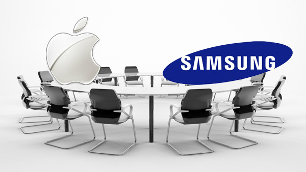 Apple and Samsung Sitting at Negotiation Table