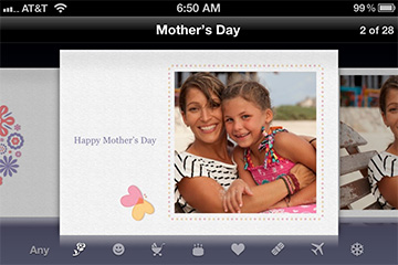 Cards adds Mother's Day themes