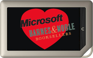 Microsoft invests in Barnes & Noble Nook