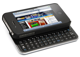 Bluetooth Sliding Keyboard Case for iPhone