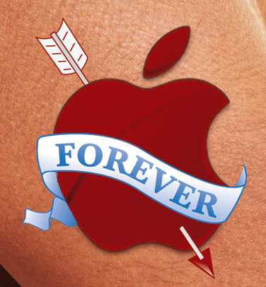 Apple Forever Tattoo