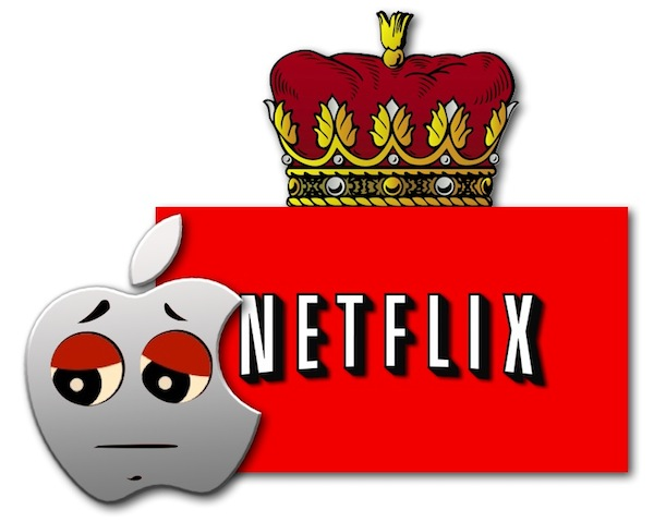 Netflix Tops Apple 2011 Online Video Revenue