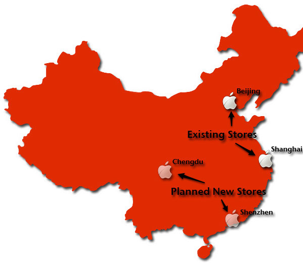 Apple Stores in China