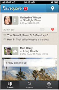 Foursquare 5.0 for the iPhone