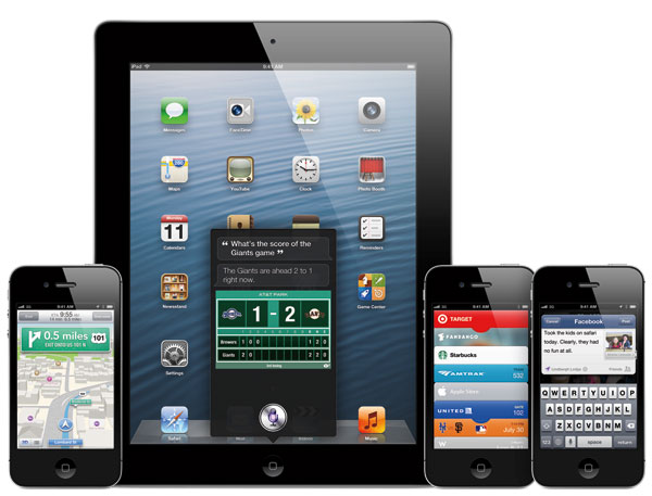 iOS 6 on iPhone & iPad