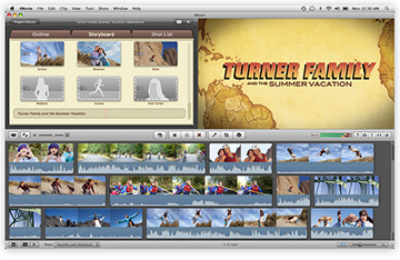 iMovie for the Mac adds retina display support