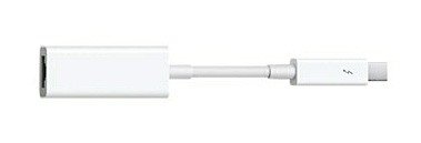 Apple's Thunderbolt to Gigabit Ethernet adapter