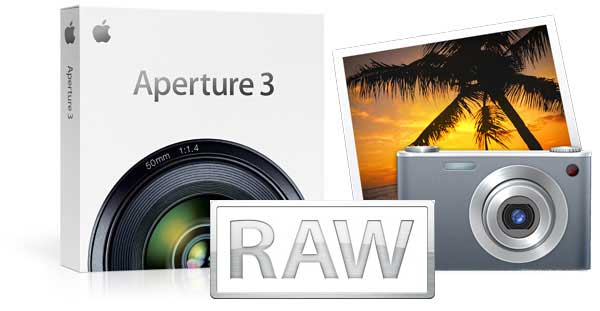 Aperture, iPhoto, and RAW