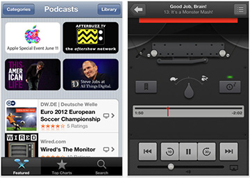 Apple's new Podcasts app for the iPhone and iPad