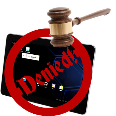 Judge won't lift Galaxy Tab 10.1 injunction