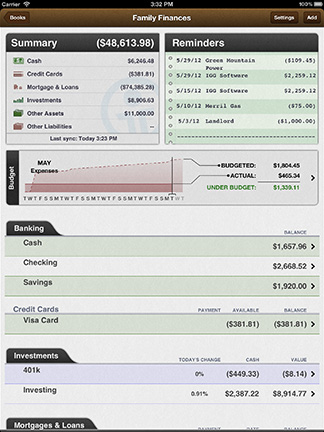 iBank for the iPad