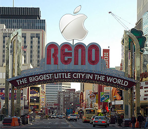 Reno gambles on Apple with data center tax incentives