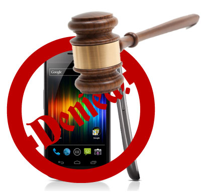Samsung Galaxy Nexus Injunction