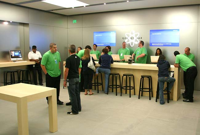Original Genius Bar configuration