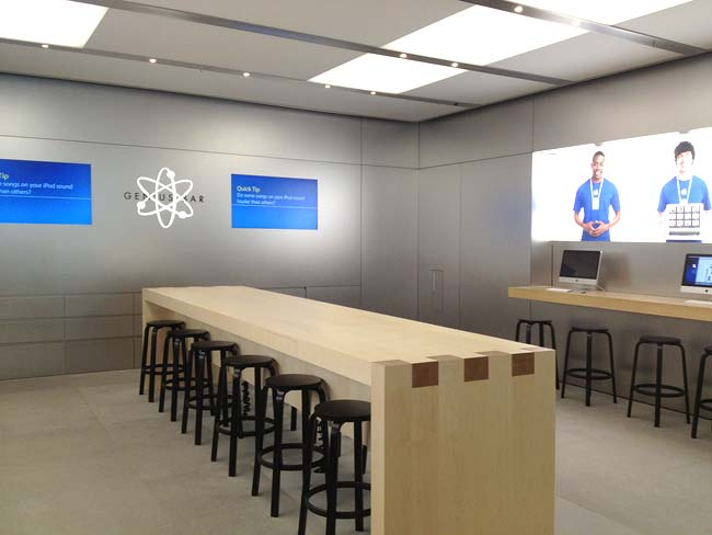 New Genius Bar Configuration