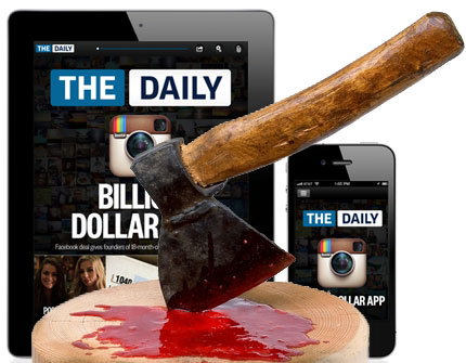 The Daily on the Chopping Block