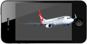 Qantas drops BlackBerry for iPhone