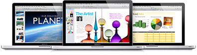 iWork for the Mac adds iCloud support