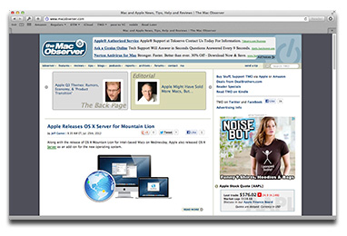 Safari 6 for OS X Lion gets Smart Search Field