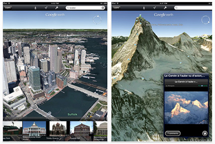 Google Earth for iOS adds 3D city views
