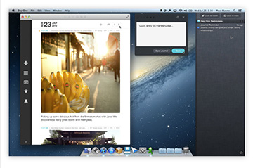 Day One for the Mac gets Retina Display support
