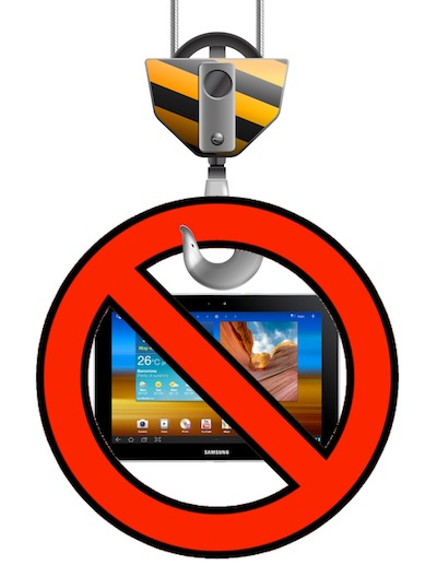 Galaxy Tab 10.1 Injunction Lifted
