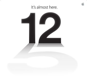 Apple hosting September 12 media event