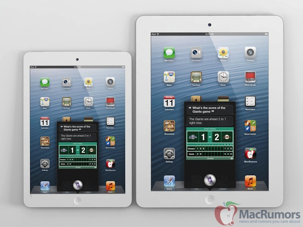 iPad mini Rendering