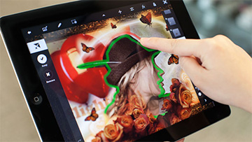 Photoshop Touch for the iPad adds Retina Display support