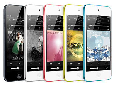 iPod nano: Now in colors