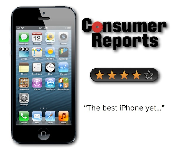 Consumer Reports iPhone 5 Review