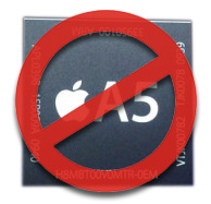Samsung: No Apple chips for you!