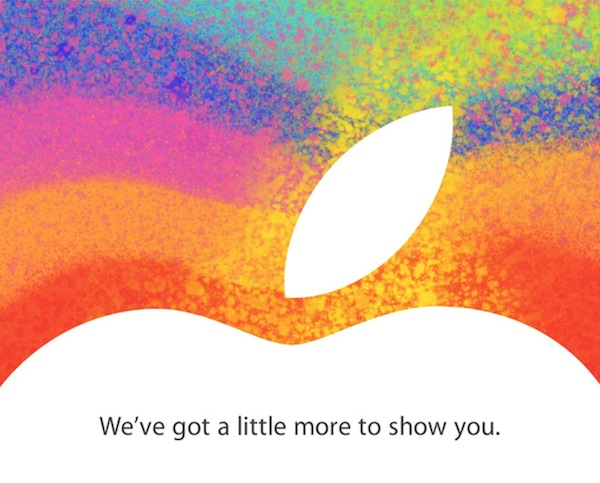 Apple October Event Invitation
