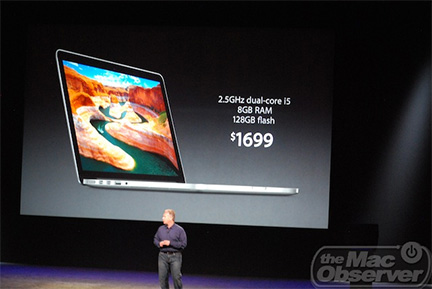 Apple's new Retina 13.3-inch MacBook Pro