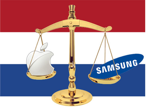 Apple vs. Samsung in The Netherlands