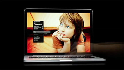 Apple shows off the 13-inch MacBook Pro Retina Display in new ad