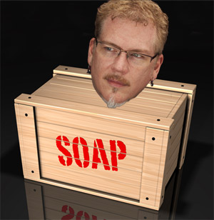 Bryan Chaffin on a Soap Box