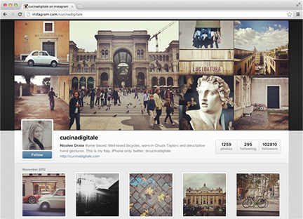 Instagram's new Web profiles