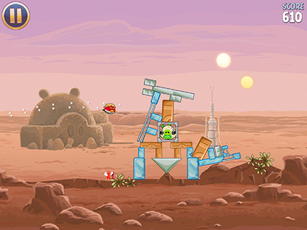 Angry Birds Star Wars takes the birds to Tatooine