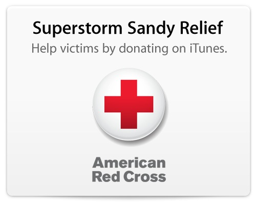 Hurricane Sandy Apple Donation Red Cross
