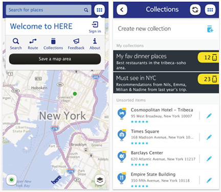 Nokia takes on Apple's Maps app with HERE