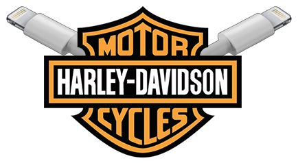 Apple's Lightning comes from Harley-Davidson