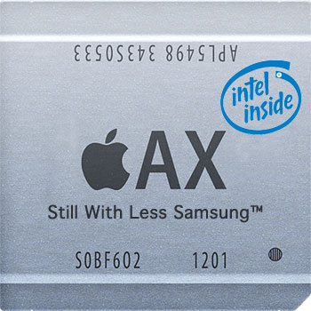 Apple's Intel Processors?