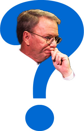 Eric Schmidt is Curious