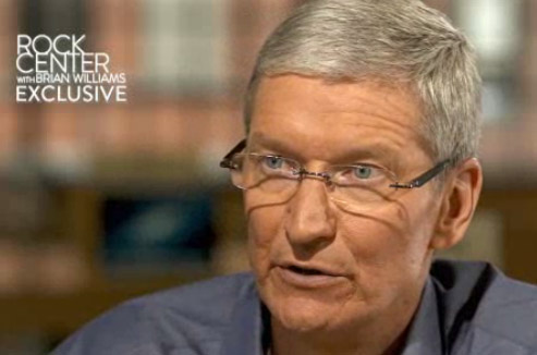 Tim Cook on NBC